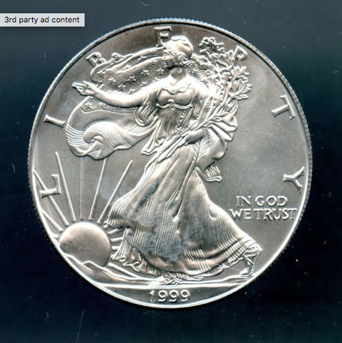 Uncirculated Silver Eagles -Various Dates